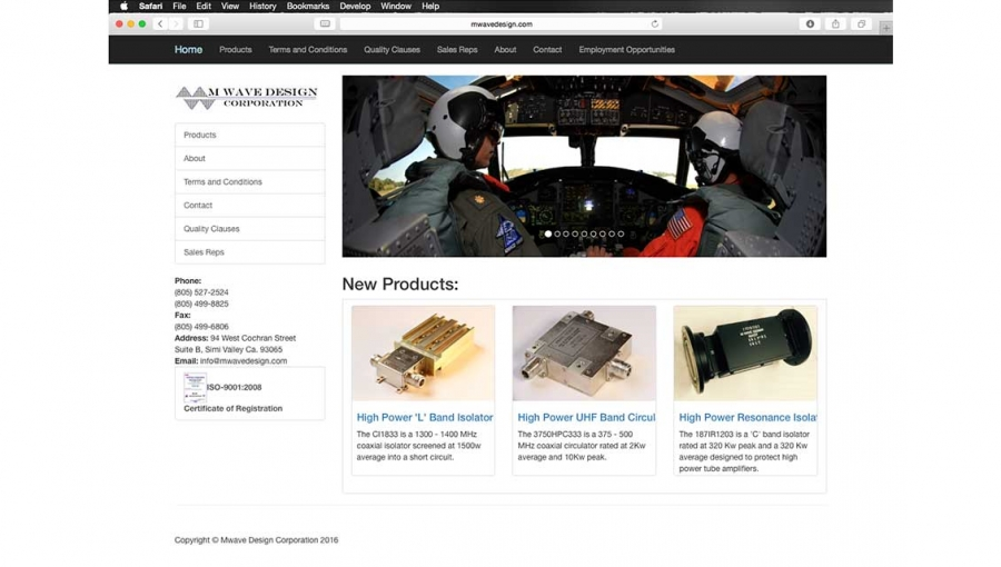 M Wave Design Launches New Website